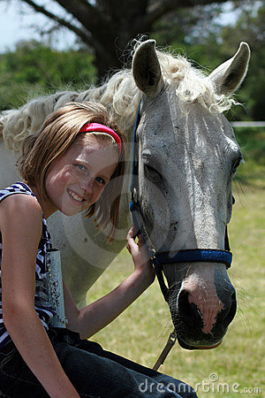 Free My First Pony  Royalty Free Stock Photography - 15337867