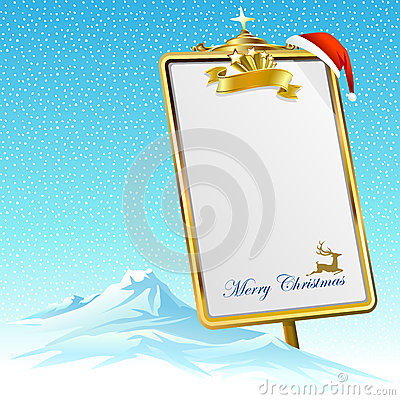 Free My Gift-list For Santa Claus Royalty Free Stock Photos - 35016598