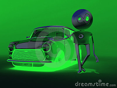 My green car