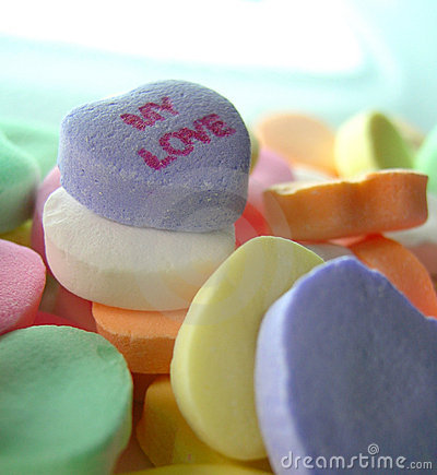 My Love Candy Hearts