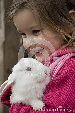 Free My Lovely Rabbit Stock Photos - 2743703