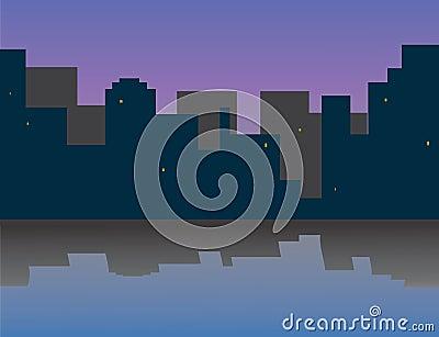 My morning city