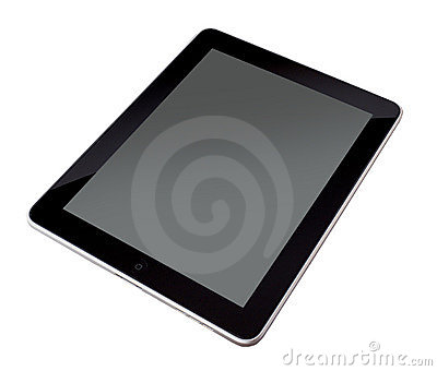 My new ipad with blank