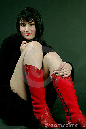 Free My Red Boots Stock Photos - 666083