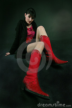 Free My Red Boots Stock Photo - 666120