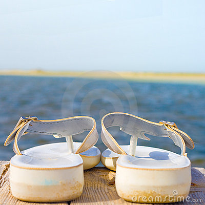 Free My Sandals - Focus Is In The Middle Royalty Free Stock Photo - 7534655