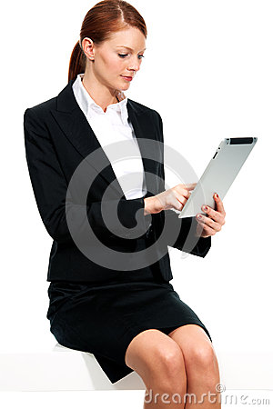 My tablet is part of my business strategy