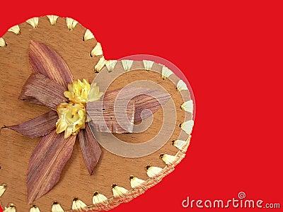 My Valentine heart-shaped box