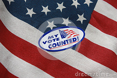 My Vote Counted Sticker