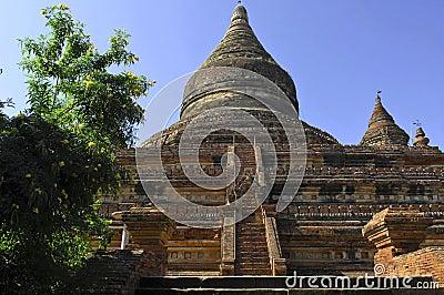 Myanmar, Bagan: mingalazedi pagoda