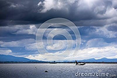 Myanmar, life in the Inle Lake