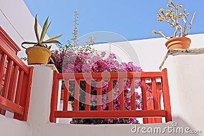 Mykonos Front Porch