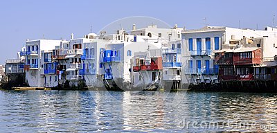 Mykonos, Little Venice Editorial Image