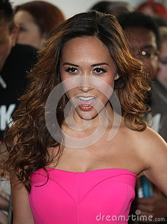 Myleene Klass Editorial Photography