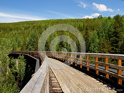 Myra Canyon railroad