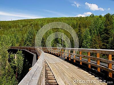 Myra Canyon railroad