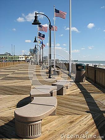 Free Myrtle Beach Board Walk Stock Image - 19015691