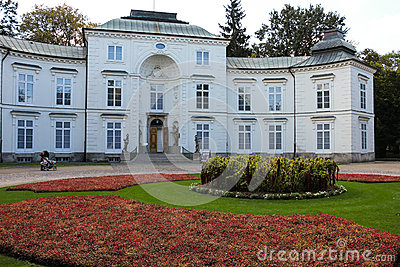 Myslewicki Palace . Warsaw. Poland. Stock Photo - Image: 28763530