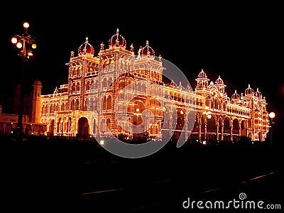 Mysore Palace Lighting-XXXV