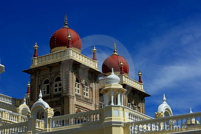 Mysore Palace Top View