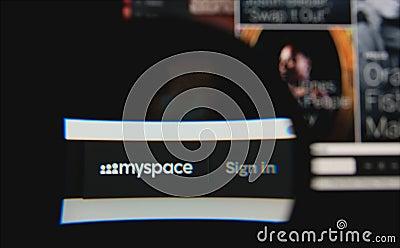Myspace Editorial Photo