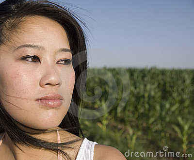 Mysterious Asian Woman
