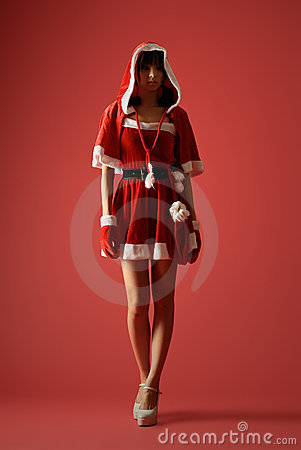 Mysterious Christmas girl