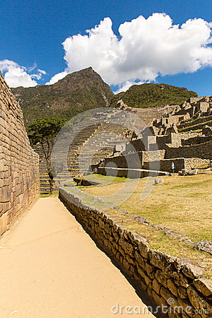 Free Mysterious City - Machu Picchu, Peru,South America. The Incan Ruins. Royalty Free Stock Photography - 40214737