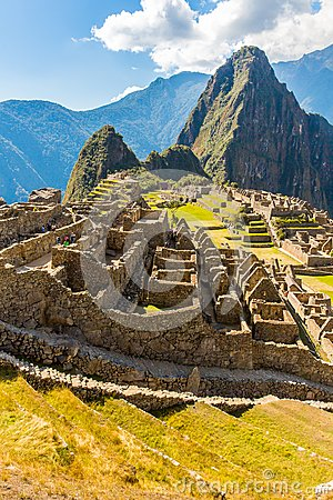 Free Mysterious City - Machu Picchu, Peru,South America. The Incan Ruins. Royalty Free Stock Photos - 40836548