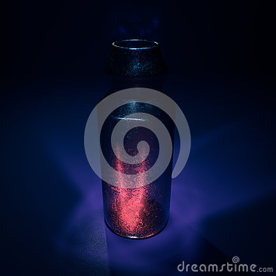 Free Mysterious Elixir Potion Bottle Stock Images - 92340194