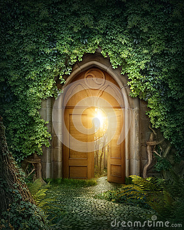 Free Mysterious Entrance Stock Photos - 45813803