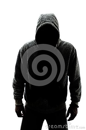Free Mysterious Man In Silhouette Stock Photography - 30260142