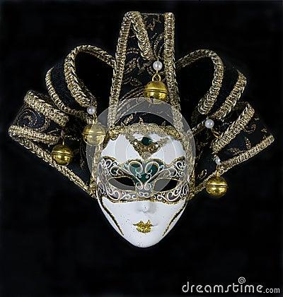 Free Mysterious Venetian Mask Royalty Free Stock Photos - 5639968