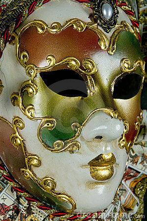 Free Mysterious Venetian Mask Royalty Free Stock Image - 5640186