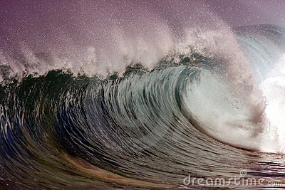 Mysterious wave
