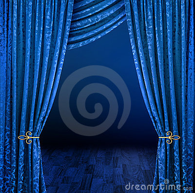 Free Mystery Curtains Stock Photography - 10782612