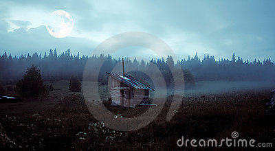 The mystery moon