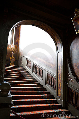 Mystery stairs
