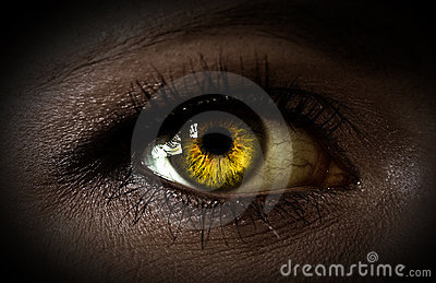 Mystery woman eye