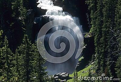 Mystic Falls, Yellowstone National