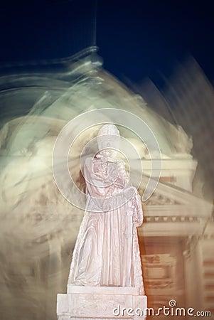 Mystic romanian statue