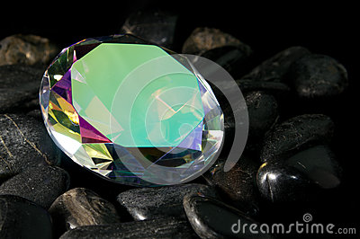 Mystic Topaz Faceted Gemstone