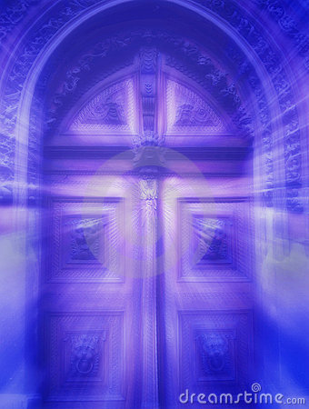 Free Mystical Door Royalty Free Stock Photo - 659485