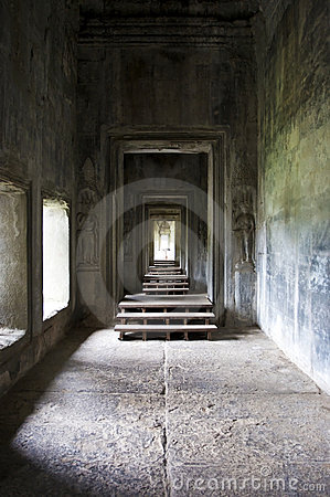 Free Mystical Empty Space At Angkor Wat Stock Photo - 12323940