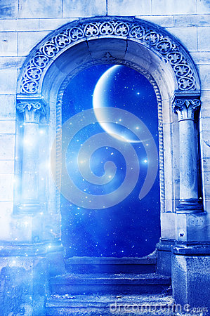Free Mystical Gate Royalty Free Stock Images - 27585629