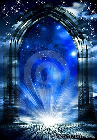 Mystical gate of dreams