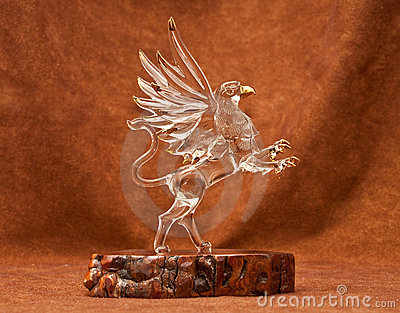 Mystical Griffin Royalty Free Stock Image - Image: 13081096