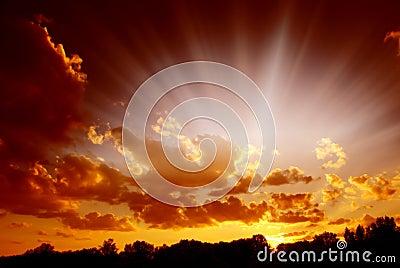 Mystical sky
