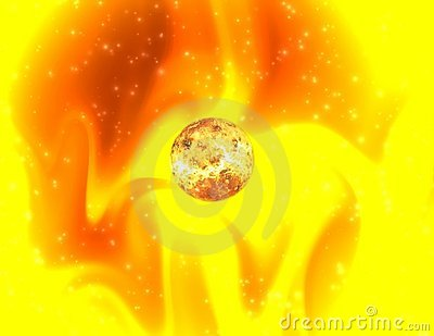 Mystical sunlight