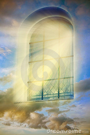 Free Mystical Window Stock Image - 17790661